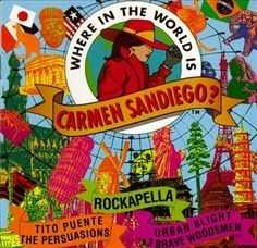 Where in the World Is Carmen Sandiego? | 12 Soundtracks To '90s Kids TV Shows You Might Not Know Exist