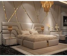 41 Comfy Master Bedroom Design Ideas Is it a Scam? homedecorsdesign - 41 Comfy Master Bedroom Design Ideas Is it a Scam? Modern Luxury Bedroom, Luxury Bedroom Design, Master Bedroom Design, Luxury Home Decor, Luxurious Bedrooms, Contemporary Bedroom, Luxury Interior, Master Master, Bedroom Classic