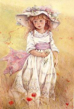Picking daisies ~ Lisi Martin