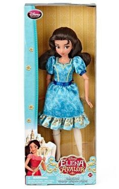 New Disney's Elena Of Avalor Isabel Doll First Latin Princess Show ...