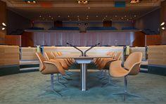 A Council Chair, da One Collection, desenhada por Kasper Salto & Thomas Sigsgaard, ganhou uma competição para fazer parte da sala Finn Juhl, na sede da ONU, em Nova York.