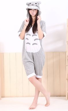 b783df7adf95 Totoro Adult Spring and Summer Kigurumi Sweaters Totoro Onesie