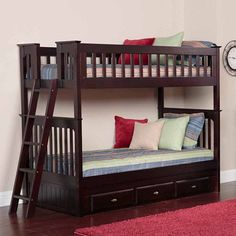 Kaitlyn Twin Over Twin Bunk Bed With Stairs Audrey And