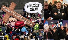 Angela Merkel is punished in Germany's elections as Anti Immigration party wins big | Daily Mail Online