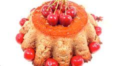 www.isabelmoro.com Es temporada de cerezas y el mejor momento para hacer todo tipo de postres caseros. En este caso un sencillo flan de cerezas. Está delicioso y se hace en un momento. Ya sabes que lo tienes paso a paso en mi blog. www.isabelmoro.com