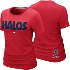 Nike Los Angeles Angels of Anaheim Ladies Halos Local Premium T-Shirt