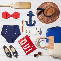 ⚓️ The ultimate weekend survival guide via @shopbop #cheerstotheweekend #soludos #regram