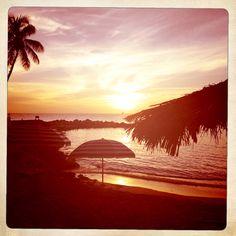 Sunset Carribean Sea