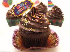 Cupcakes de chocolate negro - MisThermorecetas