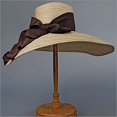 Picture Hat by Louise Green