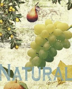 Natural Fruits Lámina
