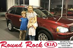 #HappyAnniversary to Janine  Sisca on your 2008 #Volvo #Xc90 from Kelly  Cameron at Round Rock Kia!