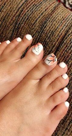 trendy pedicure designs diy pretty toes – My CMS Pedicure Colors, Pedicure Designs, Pedicure Nail Art, Toe Nail Designs, Toe Nail Art, Cute Toenail Designs, Pedicure Ideas, Pretty Toe Nails, Cute Toe Nails