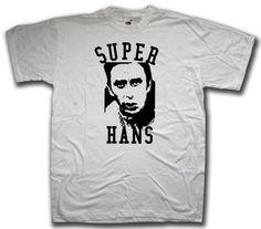 Peep Show Jez and Mark White Custom Made T-Shirt