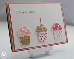 Stampin' Up! Cupcake Party Karte