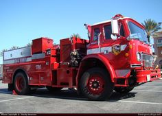 InternationalPumperCalifornia Department of Forestry & Fire ProtectionEmergency Apparatus Fire Truck Photo