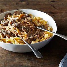 Creamy mushroom pasta (Food52)