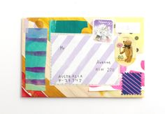 handpainted envelopes by hello sandwhich