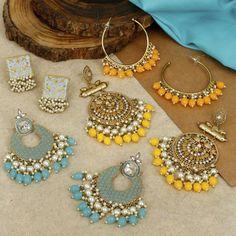 Antique Jewellery Designs, Antique Jewelry, Silver Jewelry, Jewelry Design, Ear Jewelry, Jewelery, Jewelry Accessories, Bridal Jewellery, Fashion Jewellery