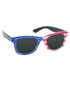 92cfe9f9c6d1 Sunglasses 176967  New Oshkosh Boys Sunglasses July 4Th Flag Wayfar 0-24M 0-