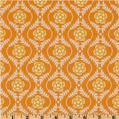 Online Shopping for Home Decor, Apparel, Quilting & Designer Fabric Wedding Fabric, Orange Flowers, Color Theory, Damask, Fabric Design, Sewing Projects, Riley Blake, Quilts, Fabrics