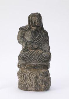 中國藝術|僧的小雕像| F1912.85