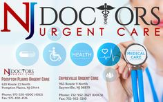 Are you suffering from any kind of health related problems then don't worry, doctor NJ provide  Urgent Care In New Jersey . For more information contact 973-530-4DOC (4362).  http://www.njdoctorsurgentcare.com/