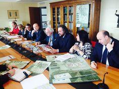 Da sinistra Luca Baglioni, Alessandra Papini, Giuseppe Salvini, Ferrer Vannetti, Piero Calli, Riccardo La Ferla, Franca Binazzi e Andrea Sereni