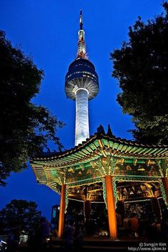 Namsan Tower - I loved when we were stationed in Korea!