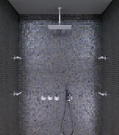 "Sicis mosaikk ""the art mosaic factory"" – Bella Mosaic Bathroom, Bathroom Spa, Bathroom Fixtures, Small Bathroom, Master Bathroom, Bathroom Lighting, Bathroom Design Inspiration, Bad Inspiration, Decoration Inspiration"