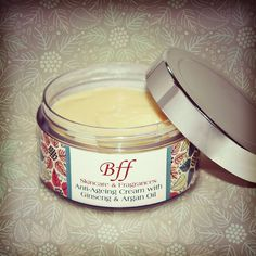 Ever Youthful Anti-Ageing Cream packed with Anti-oxidants & Vitamins from Ginseng & Argan Oil. #bffskincare #naturalskincare #antiageing #ginseng #arganoil