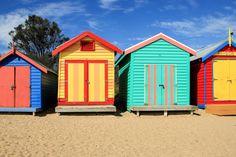 Brighton Beach, Melbourne, Australia   DoLessGetMoreDone.com  