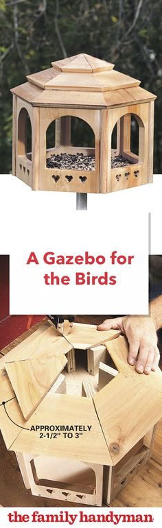 A Gazebo for the Birds