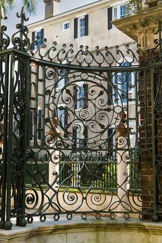 Charleston, SC Fancy  wrought iron by doddsjzi, via Flickr