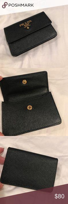 Prada Wallet Card Holder