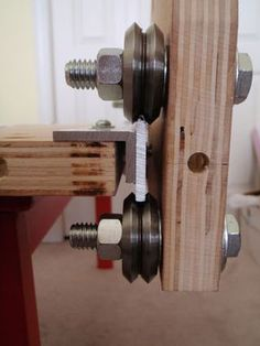This instructable outlines the assembly process of my generation CNC machine which I designed to be simple to build and quiet enough to be apartment friendly. Diy Cnc, Metal Projects, Welding Projects, Woodworking Jigs, Woodworking Projects, Homemade Tools, Wood Tools, Cnc Router, Metal Working