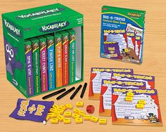 #lakeshore learning dream classroom Vocabulary Learning Games Library - Lakeshore