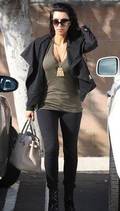 Work Custom Jeans Zepplin Leggerra Jeans in Smoke Black- As Seen on Kim Kardashian !