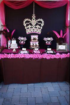 Party Box Design: Leopard Princess Party Feature