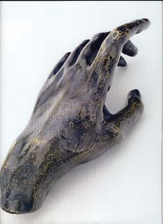 Camille Claudel, to 1,885. Hand, 4x10x4'5 cm. Bronze. Private collection.