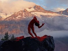 Reminded of a Maxwell Parrish painting. This Swedish Photographer Captures Mindblowing Images Of Dancers In Nature   Bored Panda