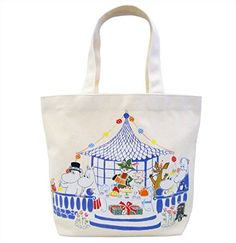 The Story of Moomin Tote Bag Party Design