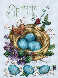 Spring Reborn - Cross Stitch