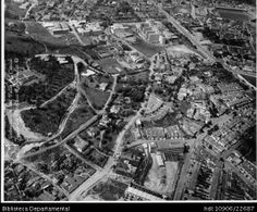 Biblioteca Departamental Jorge Garcés Borrero y OFICINA DE PLANEACION UNIVALLE. Panorámica aérea del barrio San Fernando uno de los barrios mas tradicionales de la ciudad. Cali 1968 Cali, San Fernando, City Photo, Running Away, The Neighborhood, Cities
