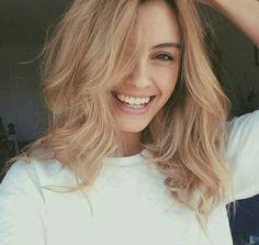 J'aurais le même sourire quand j'aurais la même texture de cheveux