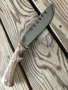 Knife made from 5160 and Acacia wood