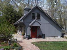 Salt Box, Garages, Barn, Garage, Shed, Garage House