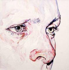 "Drawing On Creativity Saatchi Art Artist Kim Hyunji; Painting, ""Study for Void III"" Mask Painting, Oil Painting On Canvas, Painting & Drawing, Canvas Art, Amazing Drawings, Realistic Drawings, Art Sketches, Art Drawings, Pencil Drawings"