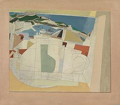 """'31 AUGUST1951 (ST IVES HARBOUR, SUMMER)' (1951) 
