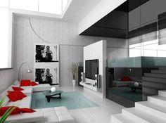 Modern Home Interior Decorating Idea